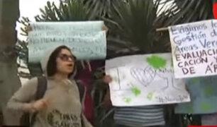 La Molina: decenas de vecinos protestan por obras de ampliación