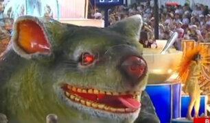 Carnaval de Río: segundo día de desfiles de Escuelas de Samba
