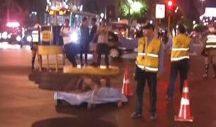 Centro de Lima: hombre muere atropellado cerca al Paseo Colón