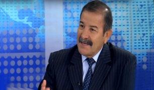 """Ex ministro Hidalgo: """"Sendero y Movadef se infiltran en marchas"""""""