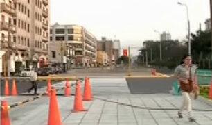 Cercado de Lima: inaugurarán alameda de la avenida 28 de Julio