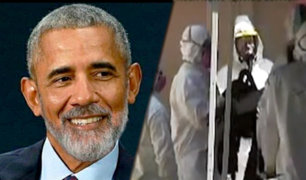 EEUU: abandonan paquete con extraño polvo en la oficina de Barack Obama