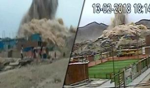 Cieneguilla: gigantesca explosión afecta a pobladores de asentamiento humano