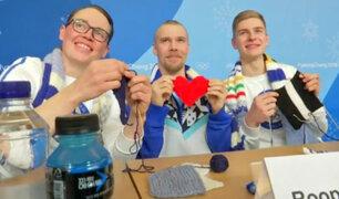 Así alivian el estrés los deportistas finlandeses en Pyeongchang [VIDEO]