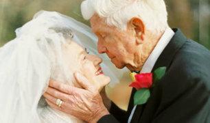 San Valentín: tiernas bodas a la tercera edad