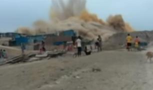 Cieneguilla: vecinos denuncian explosiones cerca a Asentamiento Humano