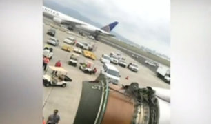 EEUU: pasajeros grabaron aterrizaje de emergencia en Hawaii