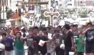 Huaraz: festividad de carnavales terminó en vandalismo