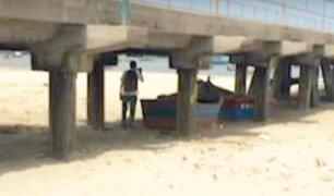 Chimbote: mar se retiró más de 50 metros en la caleta de Coishco