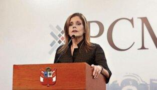 Mercedez Aráoz dice que nadie cuestionó la lealtad de Vizcarra