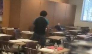 EEUU: difunden nuevos videos del tiroteo en escuela secundaria de Florida