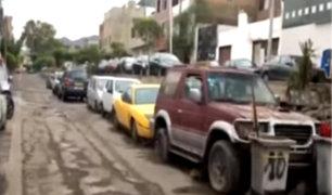 El Agustino: comisaría funciona como estacionamiento informal de autos
