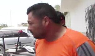 Piura: hombre que apuñaló a su expareja fue detenido por la policía
