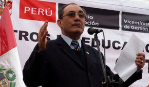 Ministro Vexler advierte que no permitirá otra huelga de maestros en el país