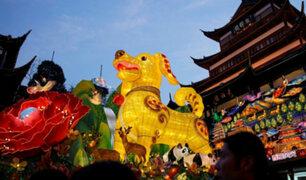 Celebraciones en todo el mundo por la llegada del año nuevo chino