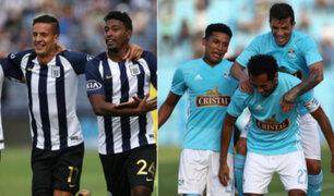 Ya se vive la previa entre Sporting Cristal y Alianza Lima