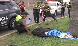 Callao: motociclista muere luego de perder el control de su vehículo