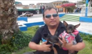 Inmigrante se reencuentra con sus perros y se hace viral