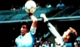 Diego Armando Maradona: el mejor gol de los mundiales y la 'mano de D10S'