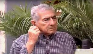 Miraflores: anciano que fue golpeado por vecino pide ayuda