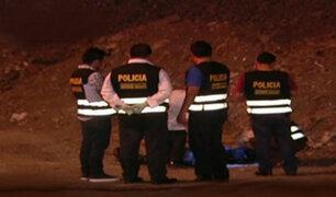 Callao: hallan cadáver de hombre dentro de una bolsa plástica