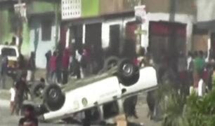 Villa el Salvador: una persona muere tras enfrentamientos por invasión de terrenos