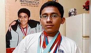 Joven Campeón de Matemáticas lucha por su vida