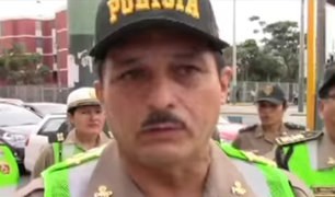 Policías que realizan labores administrativas saldrán a dirigir el tránsito