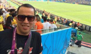 Hinchas lamentan la partida de Daniel Peredo