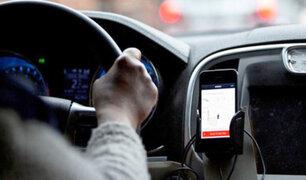 Congreso plantea regular servicio de taxis por aplicativo ante ola de robos y violaciones