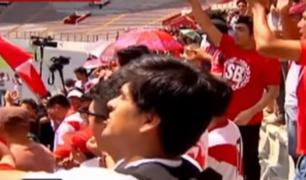 Más de 10 mil hinchas despidieron a Daniel Peredo en el Estadio Nacional