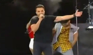 Chile: Luis Fonsi hizo bailar a Viña del Mar al ritmo de 'Despacito'