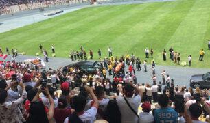 Estadio Nacional: hinchas llenaron tribuna occidente para despedir a Daniel Peredo