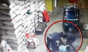Piura: delincuentes armados asaltan ferretería y se llevan 40 mil soles