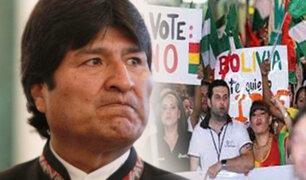Bolivia: multitudinaria marcha contra cuarta reelección de Evo Morales