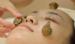 Japón: conozca el tratamiento de belleza con caracoles vivos
