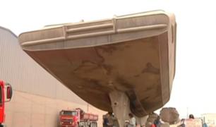 Callao: municipio se compromete a retirar tres buques abandonados