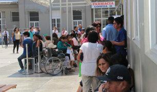 Denuncian que hospital Arzobispo Loayza no tiene medicinas ni equipos médicos