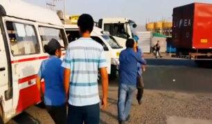 Choferes se agarran a golpes frente al caótico tráfico de la ciudad