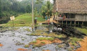 Derrame de petróleo en lote 192: crudo llegó hasta viviendas y al río Macusar