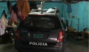San Juan de Lurigancho: patrullero terminó empotrado en vivienda