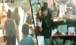 San Juan de Lurigancho: delincuentes asaltan a comensales de chifa