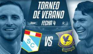 Sporting Cristal ganó 3 a 0 a Comerciantes Unidos por el Torneo de Verano