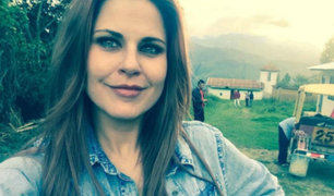 Modelo Gia Rogers sufrió fractura tras aparatoso accidente en la Panamericana Sur