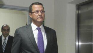 Jorge Barata responde por decretos de urgencia del Tren Eléctrico este miércoles