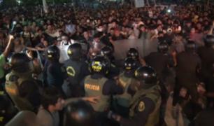 Continúan protestas contra ley formativo laboral