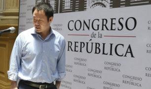 Kenji Fujimori criticó a Fuerza Popular por impedir debate sobre bicameralidad