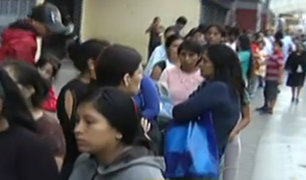 Hospital del Niño: caos por largas colas para conseguir citas