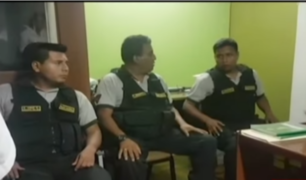 Trujillo: intervienen a tres policías por presunto cobro de coima