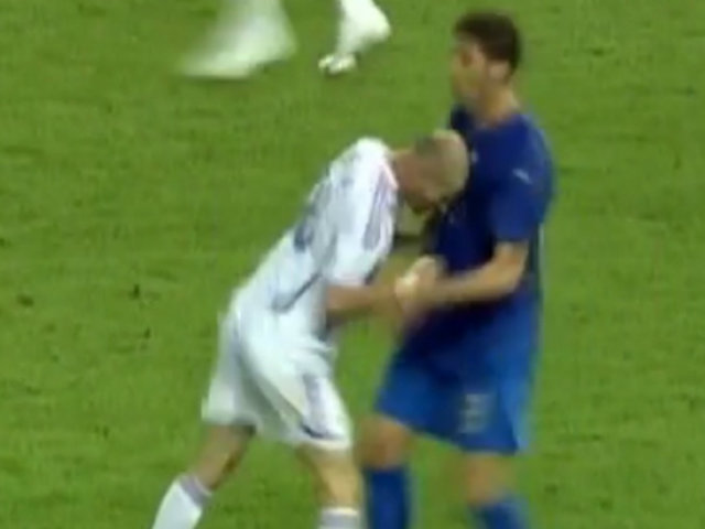 Momento mundialista: el cabezazo de Zidane a Materazzi